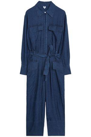 ARKET Cotton Linen Boiler Suit