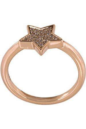 ALINKA 18kt 'Stasia' Rotgoldring mit Diamanten