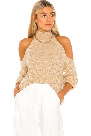 MAJORELLE Estrid Cold Shoulder Sweater in . Size XS, S, M, XL.