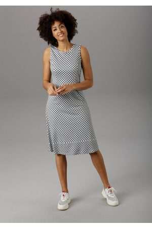 Aniston Sommerkleid mit modischer Bordüre - NEUE KOLLEKTION