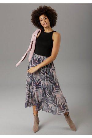 Aniston Sommerkleid im Jungle-Print