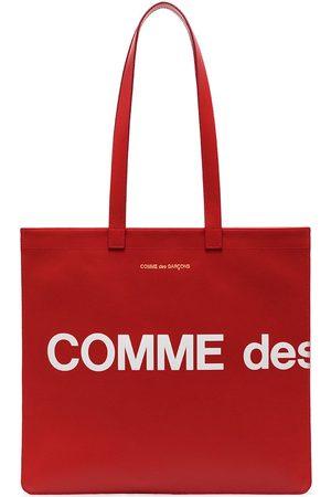 Comme Des Garçons Wallet Geldbörsen & Etuis - Shopper mit Logo-Print