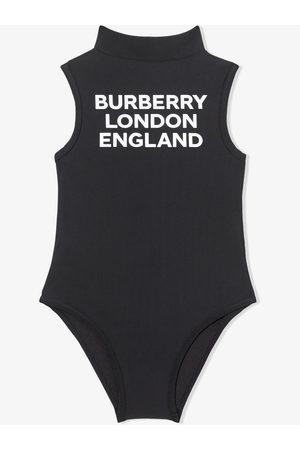 Burberry Kids Badeanzug mit Stehkragen