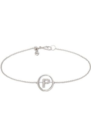 Annoushka Damen Armbänder - Armband mit verzierter P-Initiale