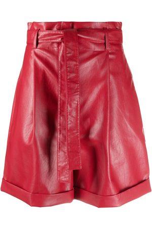 Serafini Shorts aus Faux-Leder