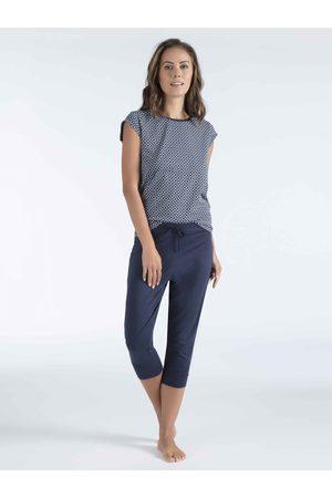 Mey Serie Demi Pyjama mit Capri-Hose
