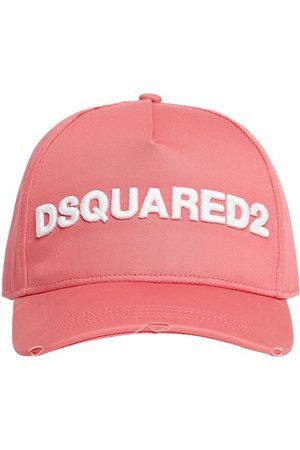 DSQUARED2 Baseballkappe Aus Baumwollgabardine Mit Logo