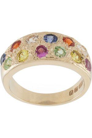 Bleue Burnham Ring mit Saphir
