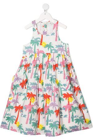 Stella McCartney Kleid mit Palmen-Print