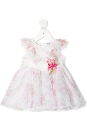 MONNALISA Ausgestelltes Kleid mit Blumen-Print