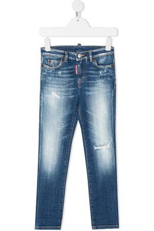 Dsquared2 Kids Jeans in Distressed-Optik