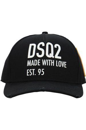 Dsquared2 Dsq2 Embro Cotton Gabardine Baseball Hat