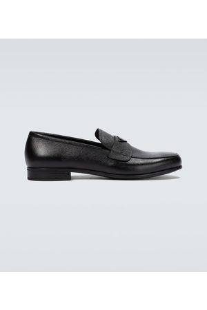 Prada Loafers aus Saffiano-Leder