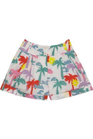 Stella McCartney Bedruckte Shorts aus Baumwolle