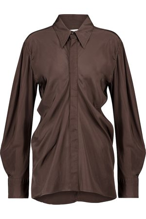 Bottega Veneta Hemd mit Seidenanteil
