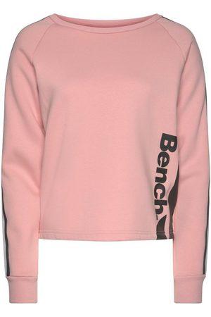 Bench Sweater kurze Form mit Kontraststreifen