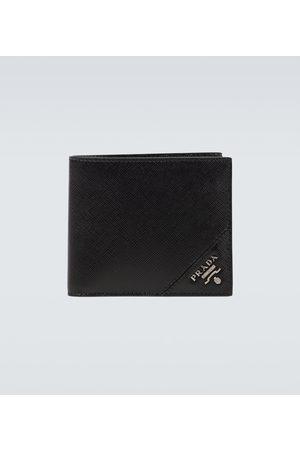 Prada Portemonnaie aus Saffiano-Leder