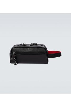 Christian Louboutin Travel Pouch Blaster aus Leder