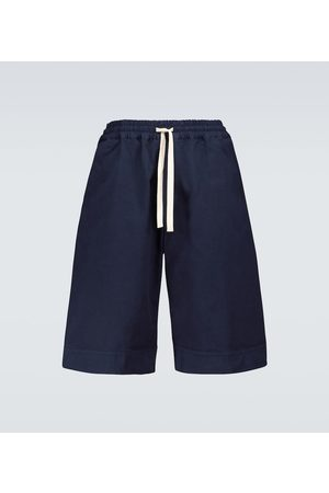 Jil Sander Bermuda-Shorts aus Baumwolle