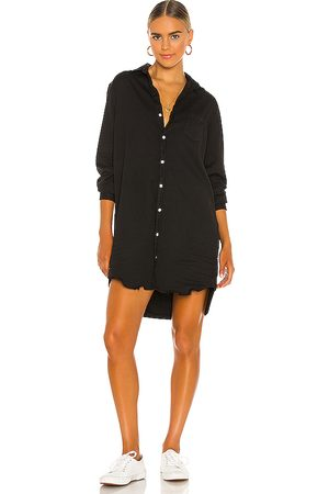 FRANK & EILEEN Mary Woven Button Up Dress in . Size S, XS, M.
