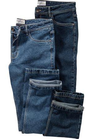HENSON&HENSON 2er Pack Herren Jeans
