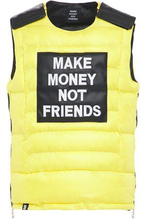 MAKE MONEY NOT FRIENDS Jackenweste Mit Logpatch