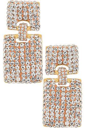 Lele Sadoughi Crystal Victoria Earrings in .