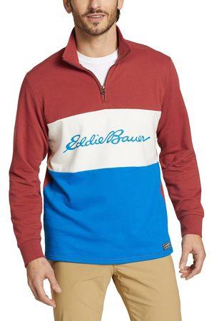 Eddie Bauer Camp Fleece Sweatshirt mit 1/4 Reisverschluss Herren Gr. S