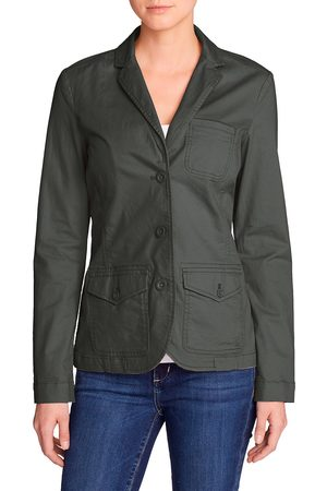 Eddie Bauer Legend Wash Stretchblazer Damen Gr. 4