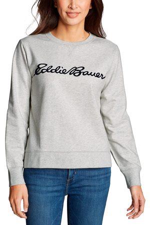 Eddie Bauer Camp Fleece Logo Sweatshirt Damen Gr. XS