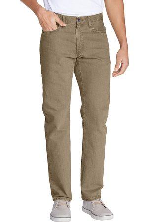 Eddie Bauer Flex Jeans - Slim Fit Herren Grün Gr. 32 Länge 32