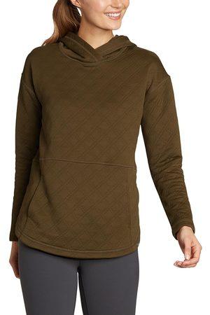 Eddie Bauer Discovery Park Shirt mit Kapuze Damen Grün Gr. XS