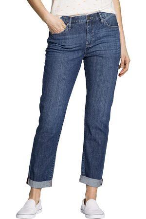 Eddie Bauer Elysian Boyfriend Jeans - Slim Leg Damen Gr. 6