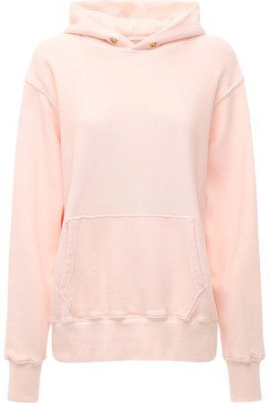 Les Tien Kurzes Kapuzensweatshirt Aus Baumwolle