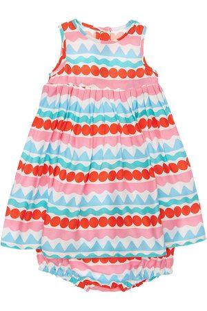 Stella McCartney Kleid Und Höschen Aus Viskosekrepp Mit Streifen