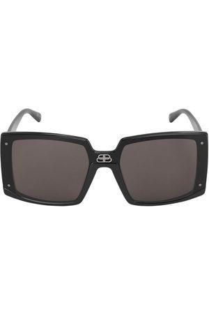 "Balenciaga Damen Sonnenbrillen - Quadratische Sonnenbrille ""shield"""