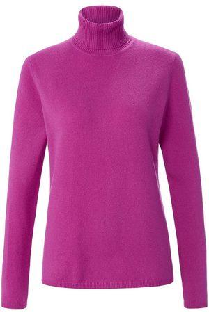 include Rollkragen-Pullover pink