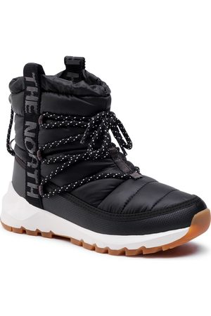 The North Face Damen Schnürstiefel - Thermoball Lace Up NF0A4AZGVD6 Tnf Black/Whisper White
