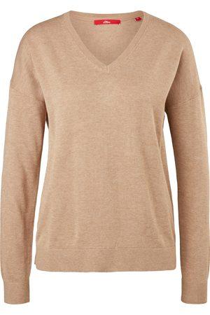 s.Oliver Damen Sweatshirts - Feinstrick-Pullover