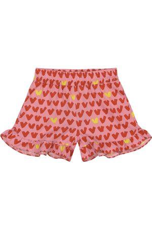 Stella McCartney Bedruckte Shorts aus Twill