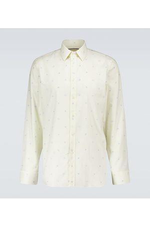 Gucci Hemd aus Oxford-Baumwolle