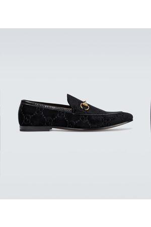 Gucci Loafers Jordaan GG aus Samt