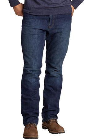 Eddie Bauer Herren Straight - Flex Jeans mit Fleecefutter - Straight Fit Herren Gr. 33 Länge 32