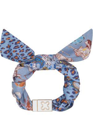 Codello Armband aus reiner Seide mit dekorativer Schleife