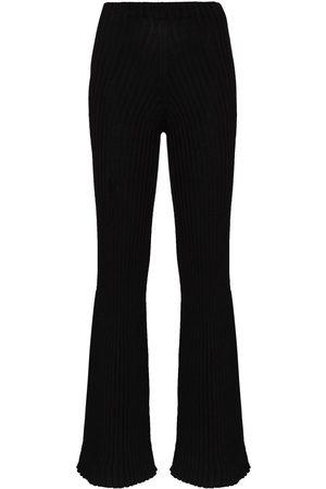 Baserange Damen Lange Hosen - Macau Jogginghose mit hohem Bund