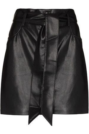 Nanushka Damen Miniröcke - Minirock aus Faux-Leder