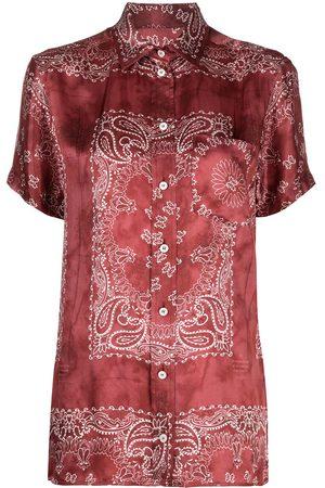 Golden Goose Damen Blusen - Hemd mit Bandana-Print