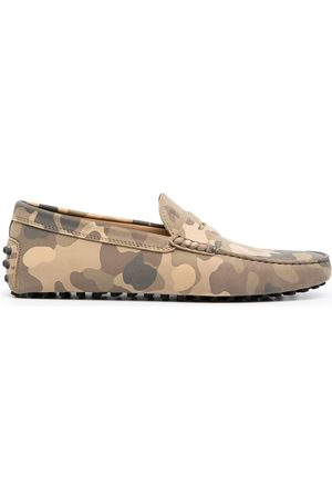Tod's Loafer mit Camouflage-Print