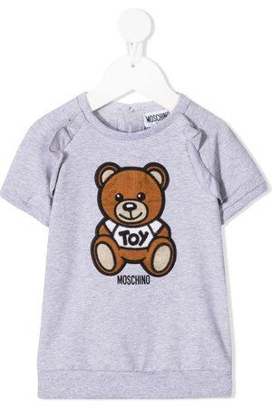 Moschino Kleid mit gehäkeltem Teddy