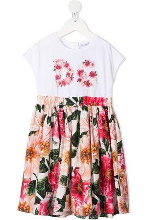 Dolce & Gabbana Mädchen Freizeitkleider - Kleid mit Blumen-Print